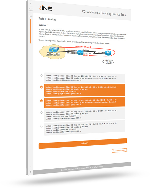 CCNA Routing and Switching 200-120 Exam Cram (4th